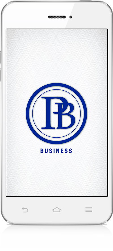 Phone with Business app logo
